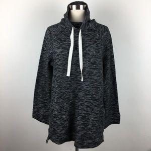 J Crew Knit Sweater Pockets Black Style #H3588